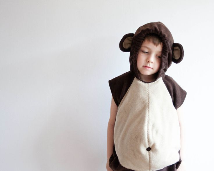 Kids Fancy Dress – Monkey Costume 5-6 Years, Halloween Costume – a unique product by oKidz on DaWanda