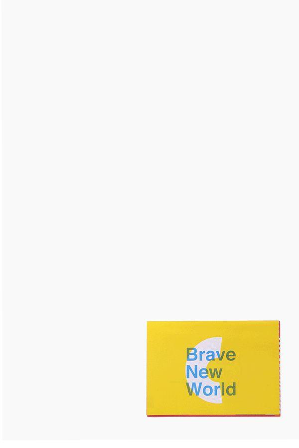 Brave New World TEDxKalamata on Behance