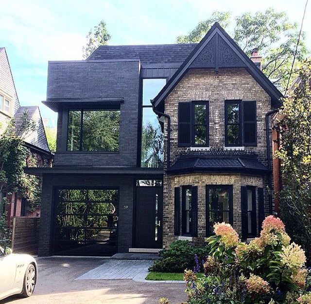 27 Modern Farmhouse Exterior Design Ideas For Stylish But Simple Look Ruang Harga Architecture House House Designs Exterior Dream House Exterior