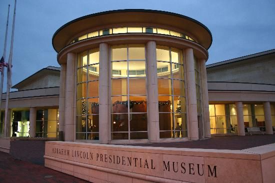 Abraham Lincoln Presidential Library and Museum....Springfield, IL....this is a must see!