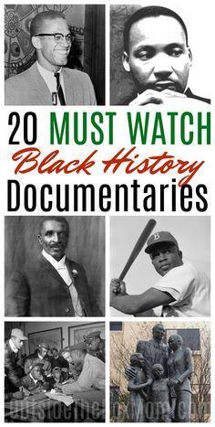 20 Must Watch Black History Movies