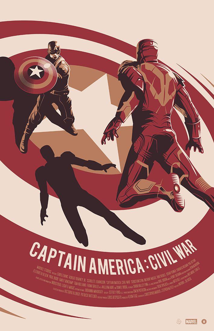Captain America: Civil War byThomas Walker