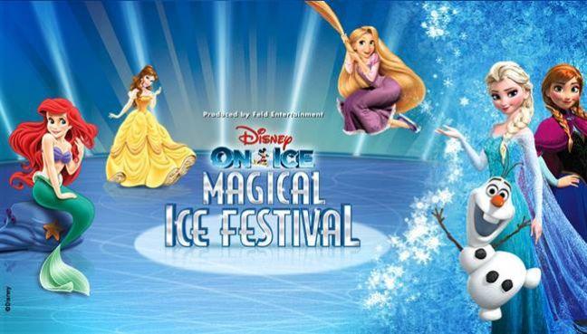 Disney On Ice 2014 Magical Ice Festival στο Κλειστό Γήπεδο Ο.Α.Κ.Α. 10 - 14 Δεκεμβρίου 2014  Υποδεχτείτε τις δυναμικές αδελφές Άννα και ΄Ελσα από την Νο 1 ταινία της Disney όλων των εποχών Ψυχρά κι Ανάποδα (Frozen) Από τα παλάτια της Disney κατευθείαν στην Αθήνα! Ετοιμαστείτε για ένα ταξίδι στον μαγευτικό κόσμο του Μίκυ και της Μίνι μέσα από το Μαγικό Φεστιβάλ Πάγου της Disney on Ice.