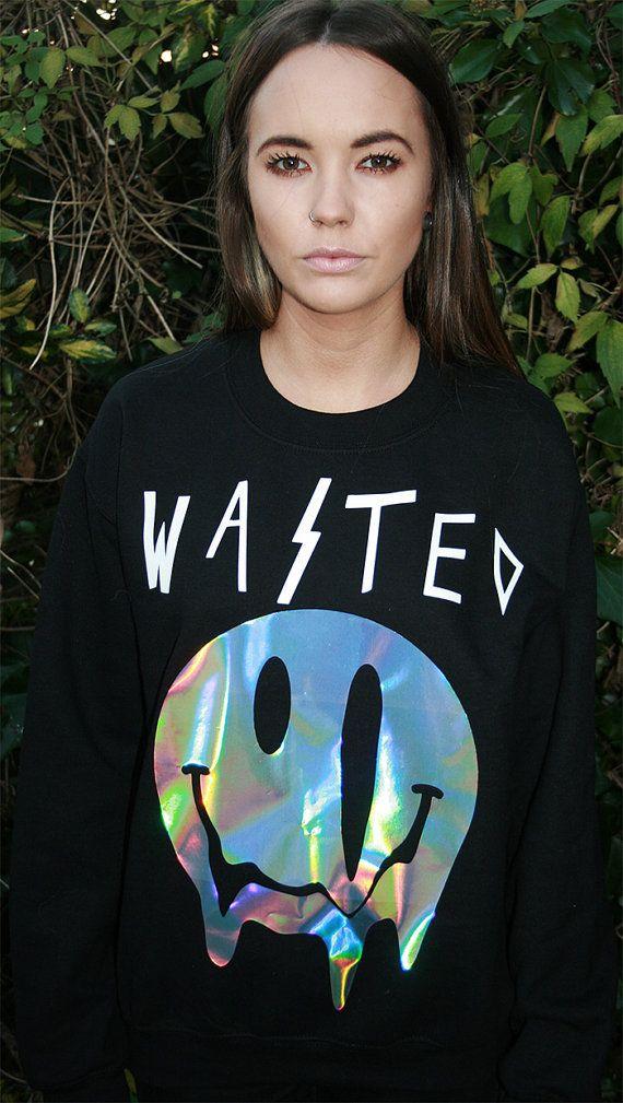 WASTED pastel grunge sweater jumper