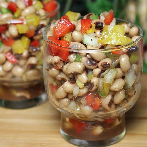 """Marinated Black-Eyed Pea Salad 
