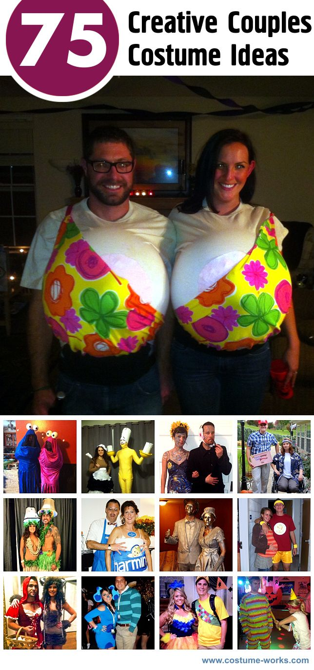 75 Creative Couples Costume Ideas Couple halloween, Diy