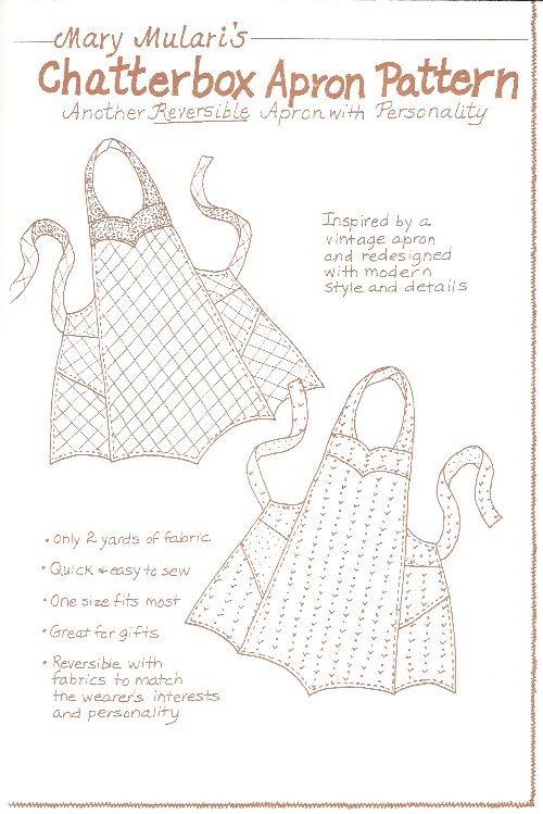 free vintage apron pattern pdf