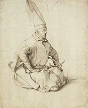 A 15th-century Janissary drawing by Gentile Bellini, who also painted the renowned portrait of Sultan Mehmed II. Janissaries - Wikipedia, the free encyclopedia