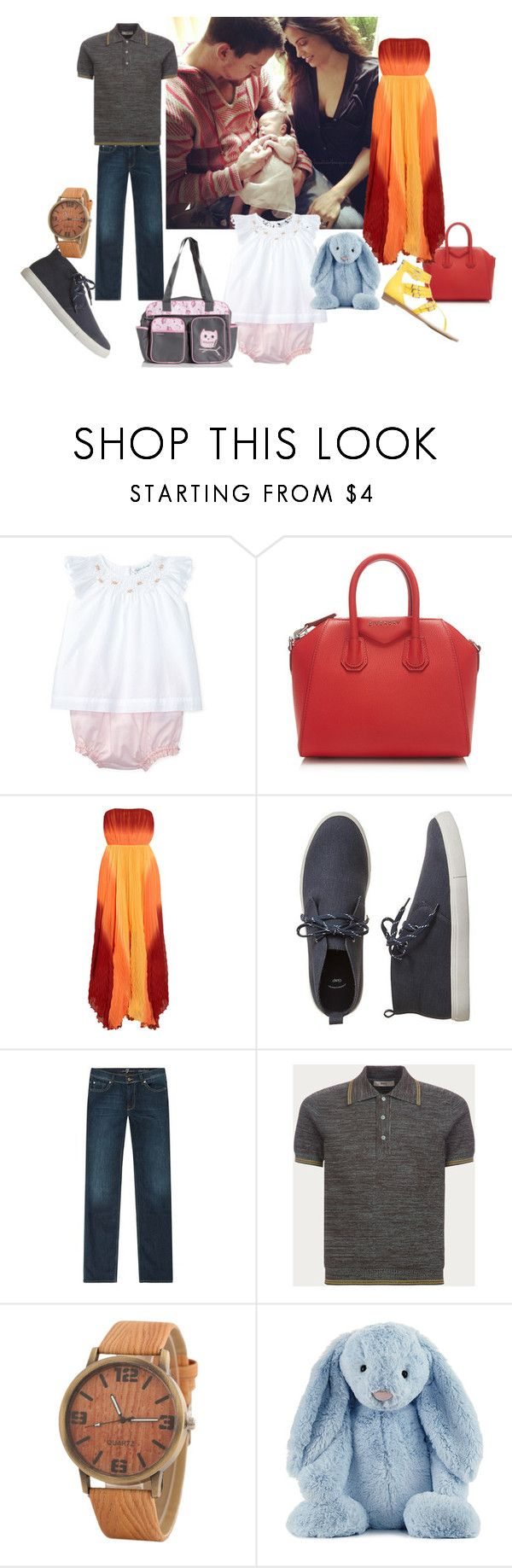 """""""Family Outing"""" by dramione-turbo ❤ liked on Polyvore featuring Ralph Lauren, Givenchy, Alice + Olivia, Gap, 7 For All Mankind, Bally and Jellycat"""