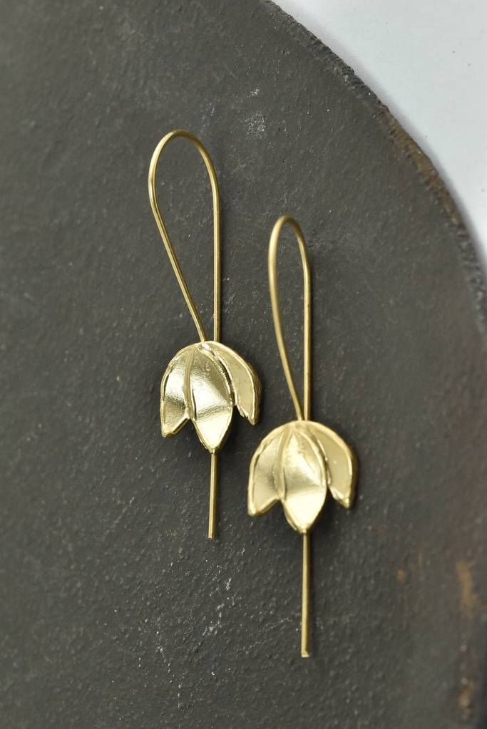 Antique Earrings Everyday Goldfiled Statement In 2018 Agatalovemade Jewelry