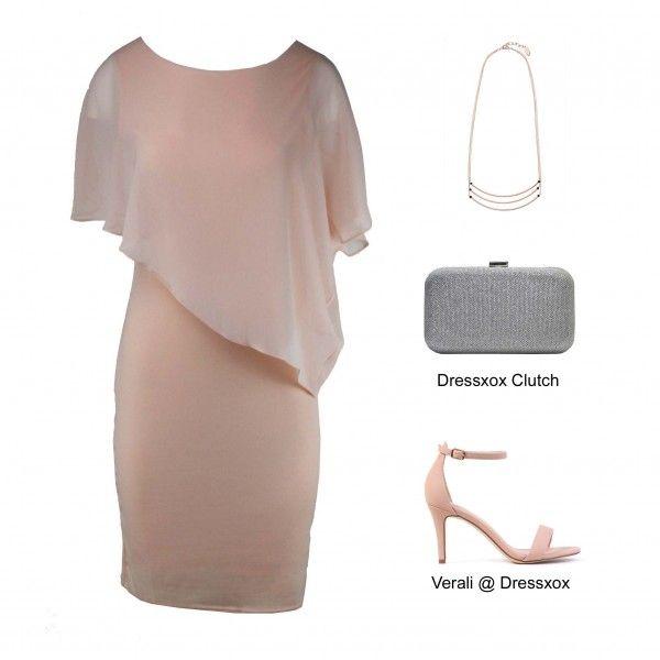 Rani Asymmetric Evening Dress