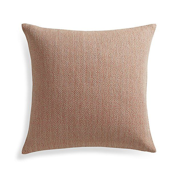 Orange Throw Pillows Crate And Barrel : 90 best Price Decor images on Pinterest
