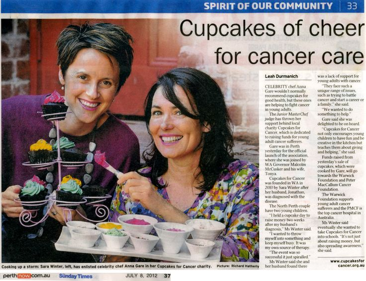 Media | News & Gallery | Cupcakes For Cancer Australia