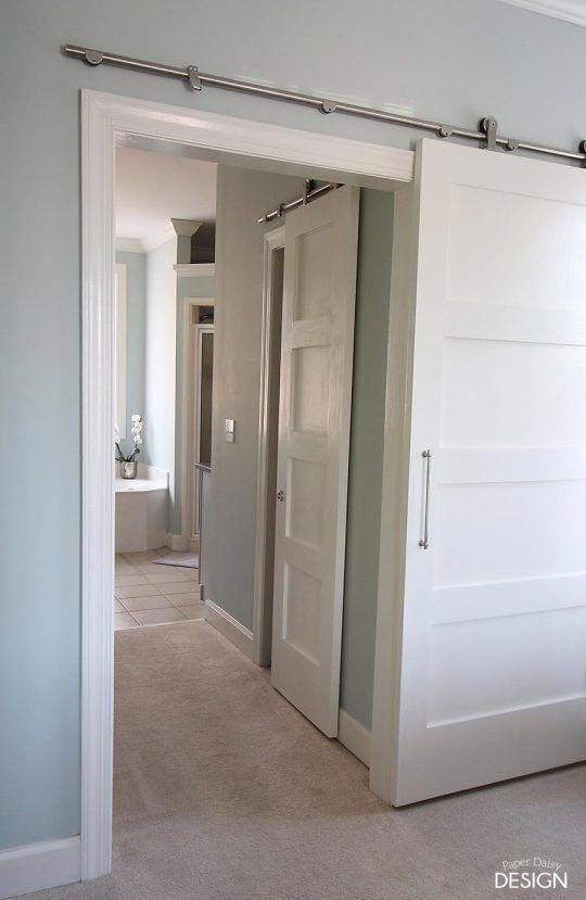 Interior Barn Door Track System | Barn Door Roller Track | Black Interior  Doors 20190120