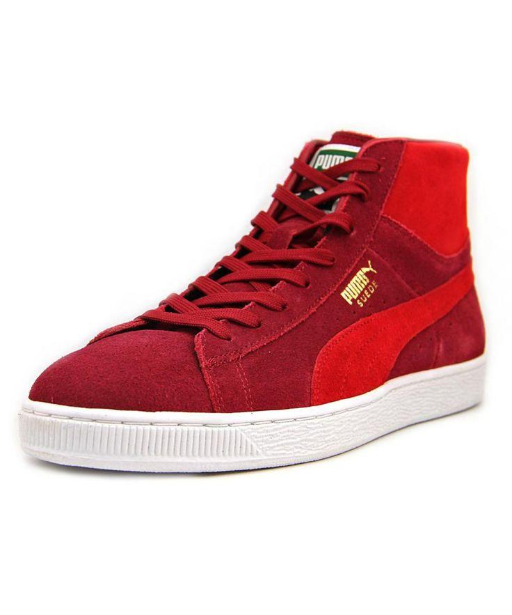 b5490edbbd1e puma suede men red on sale   OFF56% Discounts
