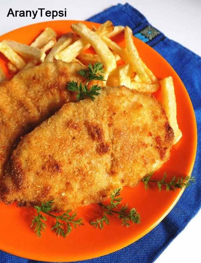 AranyTepsi: Sütőben sült parmezános rántott csirkemell