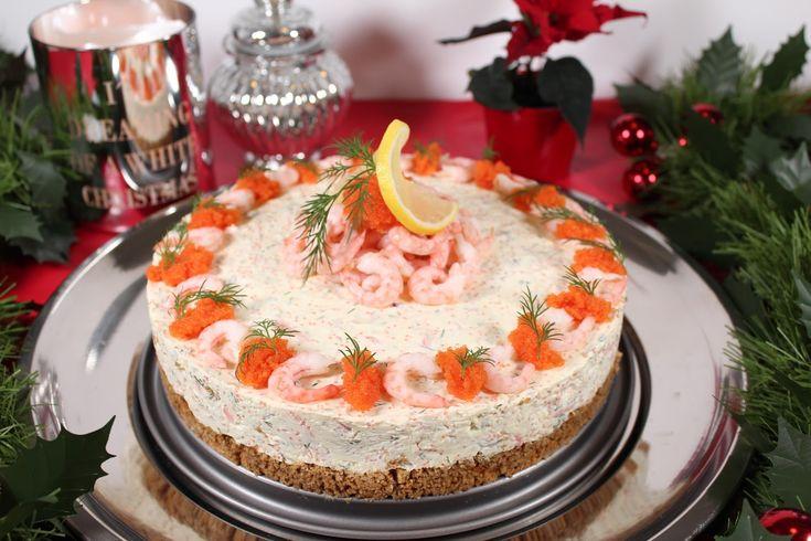 Denna räkcheesecake är med för andra gången på vårt julbord och har blivit en stor favorit. Den går att förbereda dagen innan och funkar b...