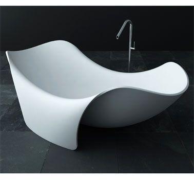 Futuristic Bathroom, Bath, Joel Roberts, Futuristic Interior, Future Home, Modern Interior, Modern Bathtub by hyeryungH