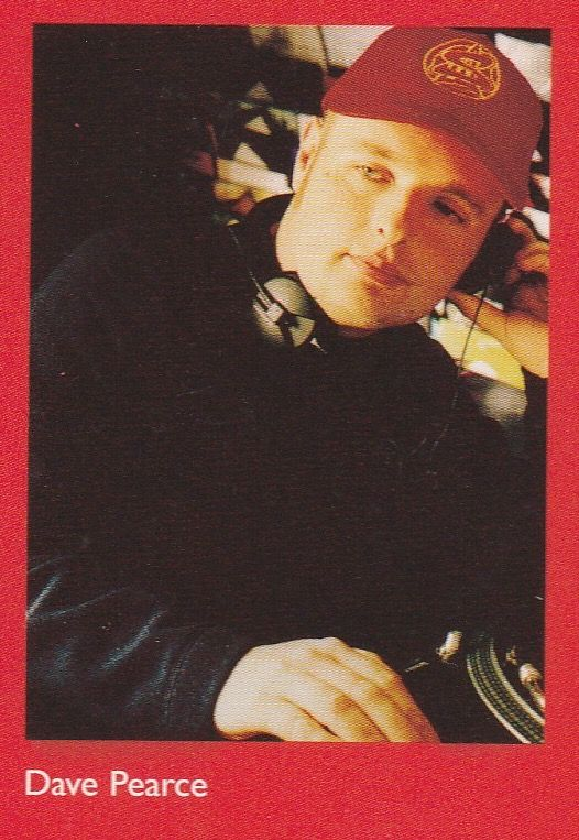 Dave Pearce.  Joined from Kiss FM in 1995.  On Radio 1 circa 1997, he had gone on from the early breakfast show to present a number of slots, including drivetime, and weekend breakfast.  BBC Radio 1 @ 50. #radio1vintage Credit: Gill Flett.