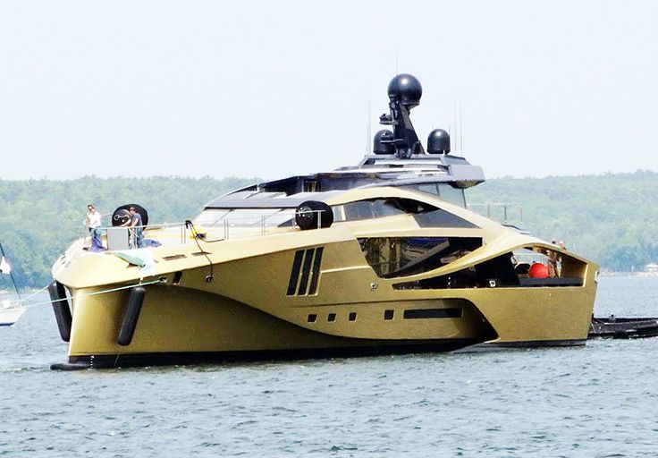 Palmer Johnson Yachts First Golden 48M SuperSport