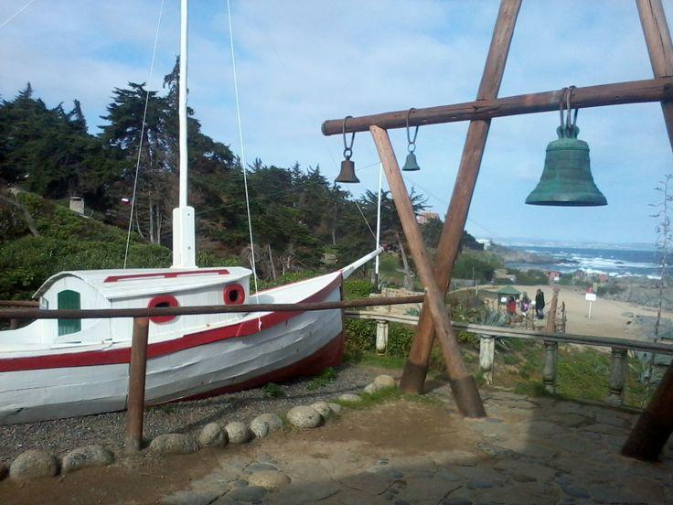 Vista desde la casa de Isla Negra de Pablo Neruda.