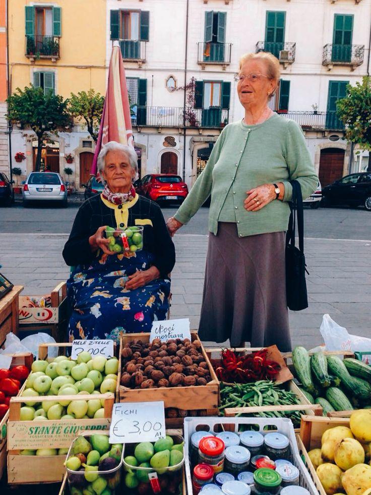 Sulmona market, Abruzzo