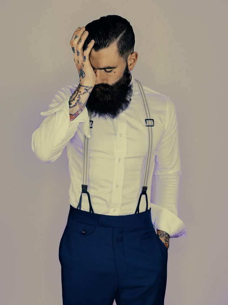Bearded groom inspiration | http://emmalinebride.com/groom/bearded-groomsmen/