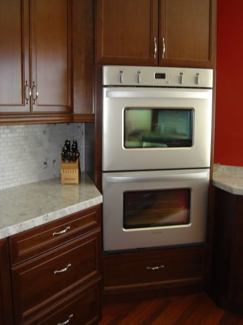 Unique Double Oven Cabinet Plans