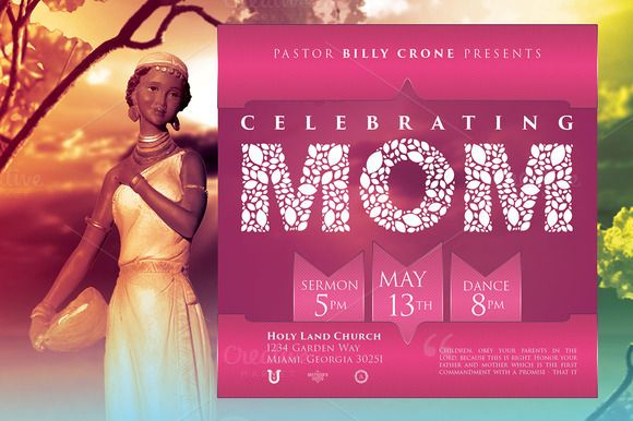 Motheru0027s Day Church Flyer Template 2 by SeraphimChris on Creative - mothers day flyer
