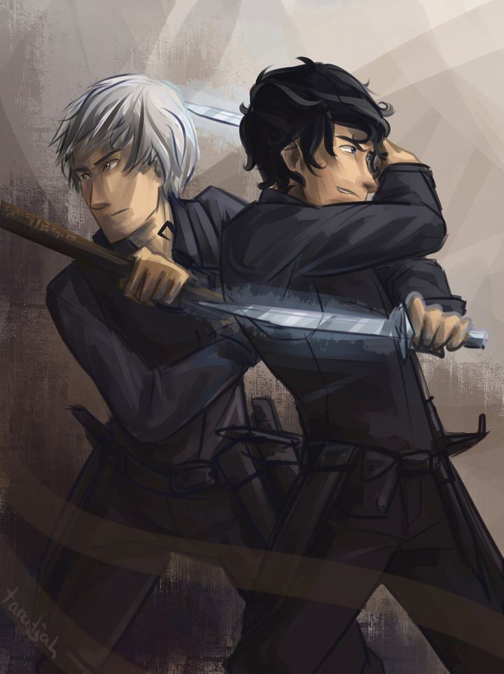 Parabatai - Will and Jem by taratjah.deviantart.com on @deviantART