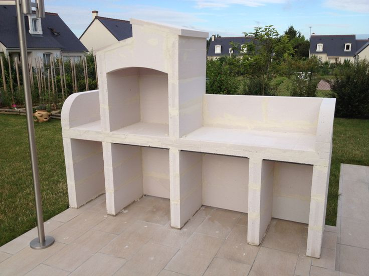 les 25 meilleures id es de la cat gorie construire un barbecue sur pinterest brick. Black Bedroom Furniture Sets. Home Design Ideas