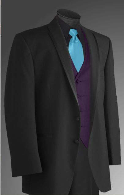 Image Detail For Option Three Black Tux Black Shirt