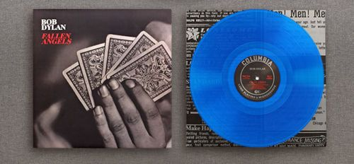 Bob Dylan Fallen Angels Exclusive Blue Vinyl