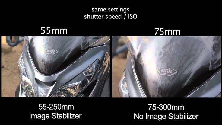Canon 55-250mm VS 75-300mm Lens