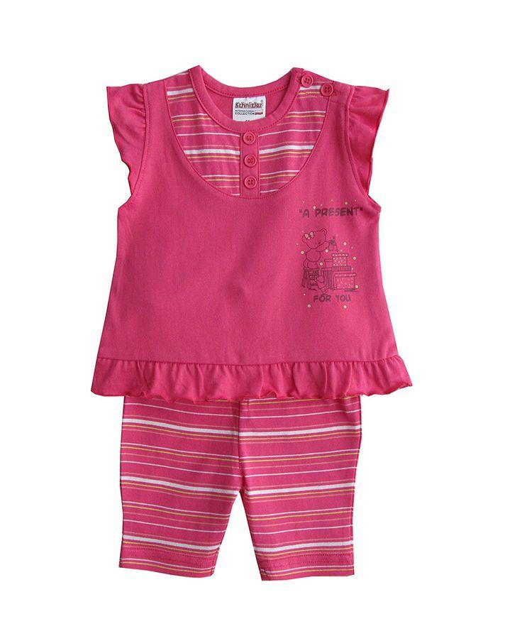 Σετ bebe μπλούζα αμάνικη-κολάν ριγέ | Poulain.gr