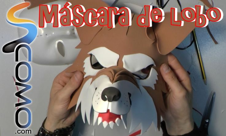 Cómo hacer una máscara de lobo feroz (1/2)