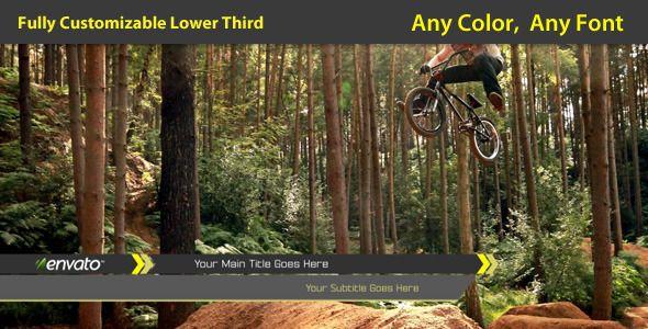 Extreme Lower Third