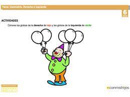 Resultado de imagen para actividades delante de detras de preescolar