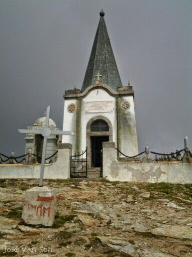 The church of Prophet Elias on Mt. Voras - Pella Regional Unit - Greece