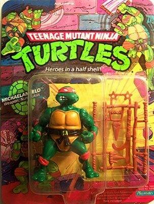Teenage Mutant Ninja Turtles Action Figures: Michaelangelo