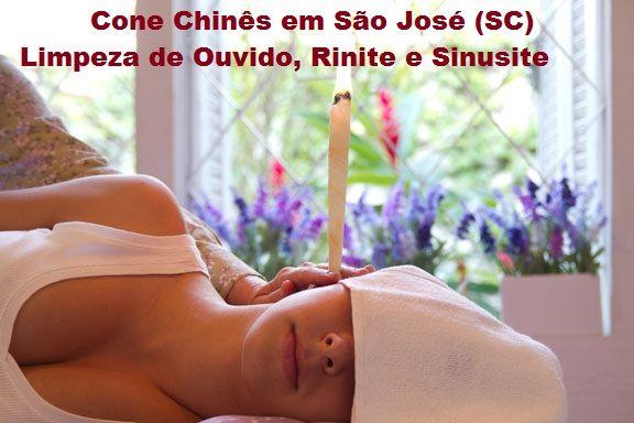 Cone Chinês - Limpeza de Ouvido - São José SC - (48) 3094-5746: Cone Chinês para Limpeza de Ouvidos, Sinusite, Rin...