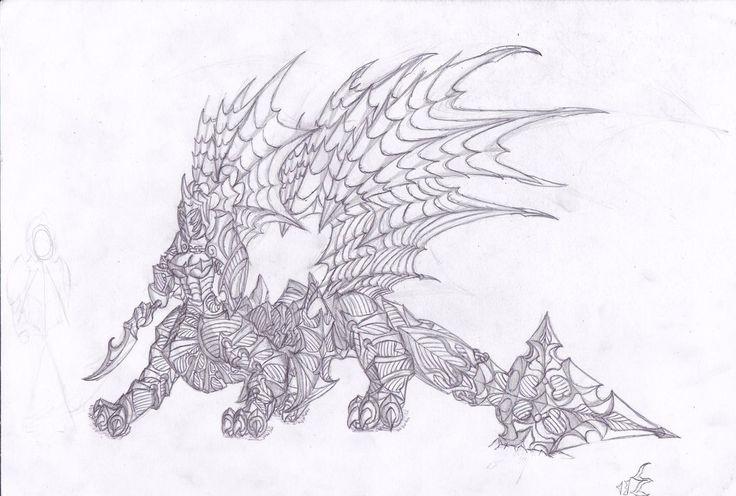 Female Dragon Centaur by Emargeddon.deviantart.com on @DeviantArt