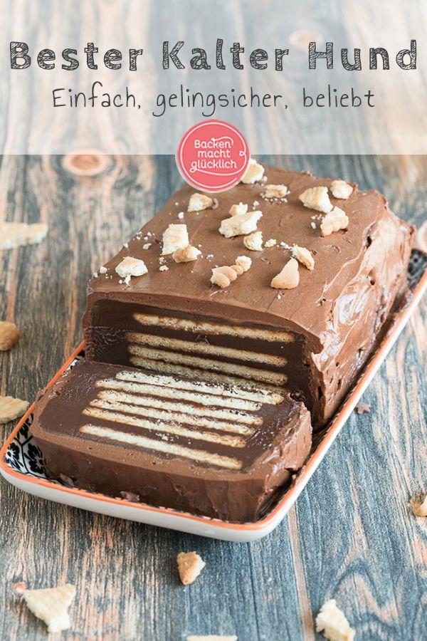 Kalter Hund Ohne Ei Rezept Kuchen Rezepte Pinterest Kuchen