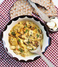 Kycklingfilé med currysås och champinjoner