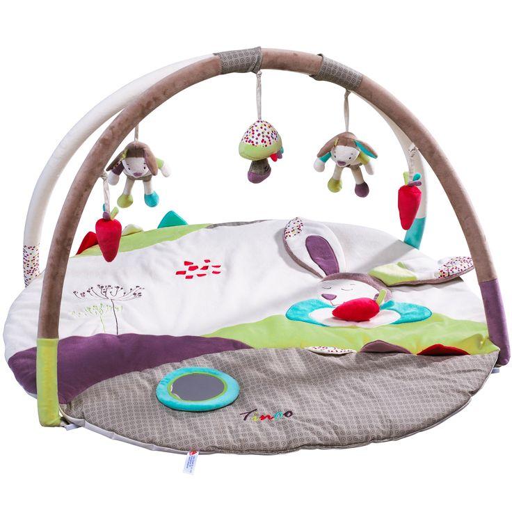 Tinoo tapis d'éveil de Sauthon Baby Déco, Tapis d'éveil : Aubert