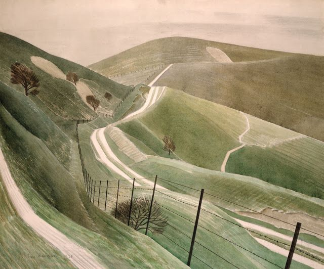 James Russell: Eric Ravilious: Chalk Paths