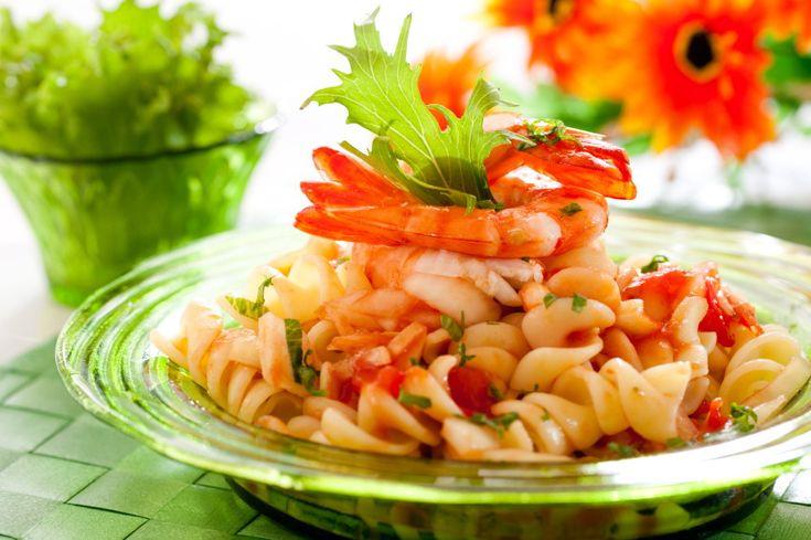Паста с креветками и сладким перцем | Pasta Paolo - рецепты пасты и соусов к пасте