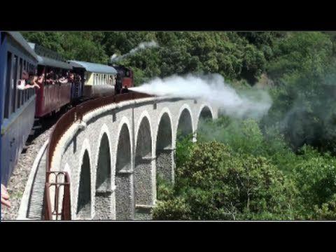 ▶ Le train à vapeur des Cévennes (Saint-Jean-du-Gard/Anduze - Gard - France) - YouTube