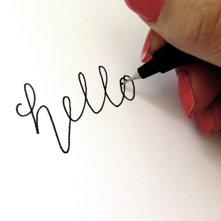 17 Best Ideas About Fake Calligraphy On Pinterest