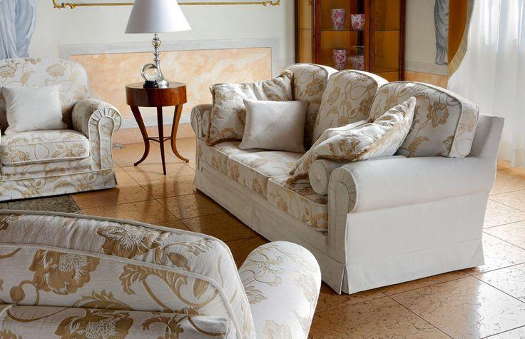 Otello Class sedací souprava a křesla v tradičním stylu / living room sofa in traditional style